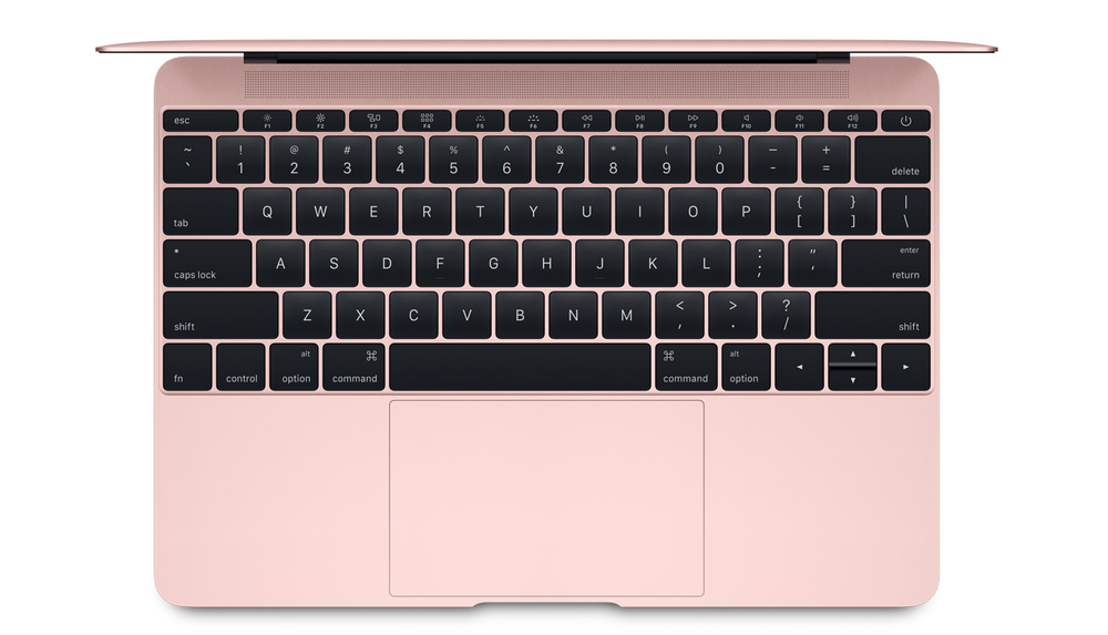 clavier-macbook-rose