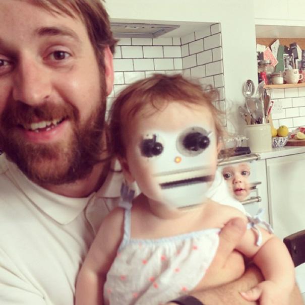 faceswap-bébé avec four