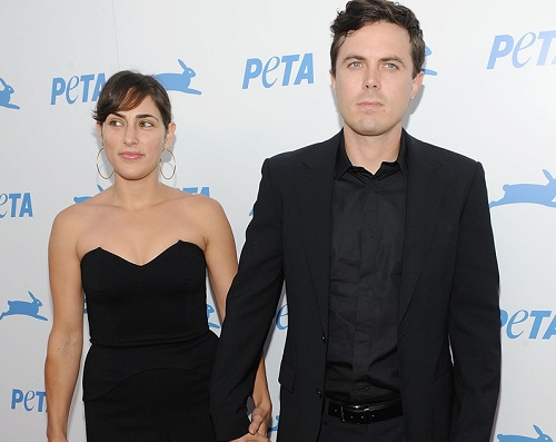 LOS ANGELES, CA - SEPTEMBER 25: Actor/Director Casey Affleck (R) and wife Summer Phoenix arrive at PETA's 30th Anniversary Gala and Humanitarian Awards at The Hollywood Palladium on September 25, 2010 in Los Angeles, California. (Photo by Michael Kovac/FilmMagic)